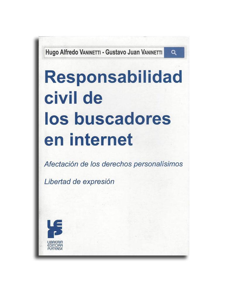 Responsabilidad civil de los buscadores en Internet ISBN 9789505362530